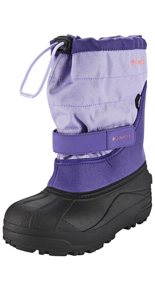 Columbia Powderbug Plus II Boots Youth emperor / melonade